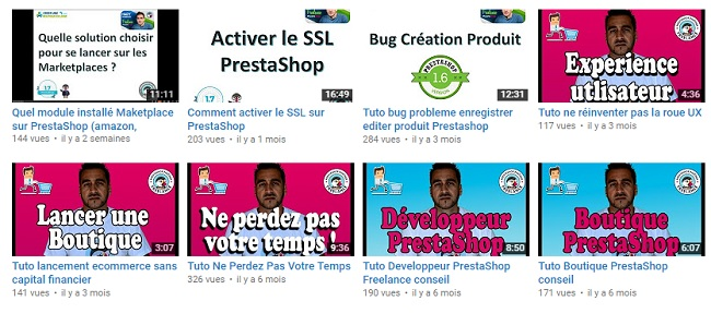 refonte boutique prestashop