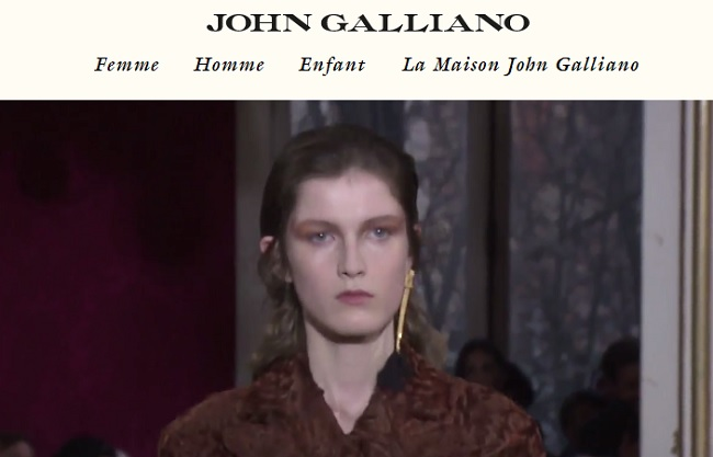 jupe john galliano