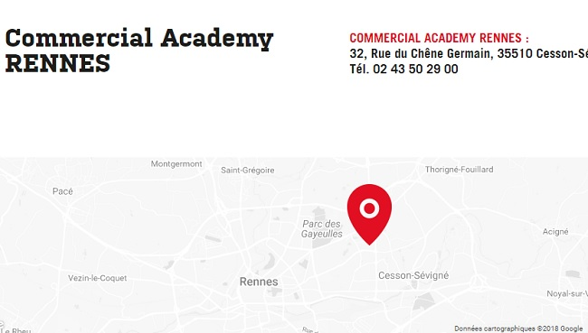 formation commercial rennes